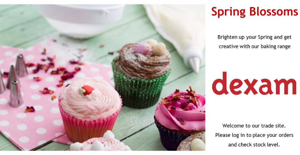 Brighten up your Spring and get Creative with our Baking range