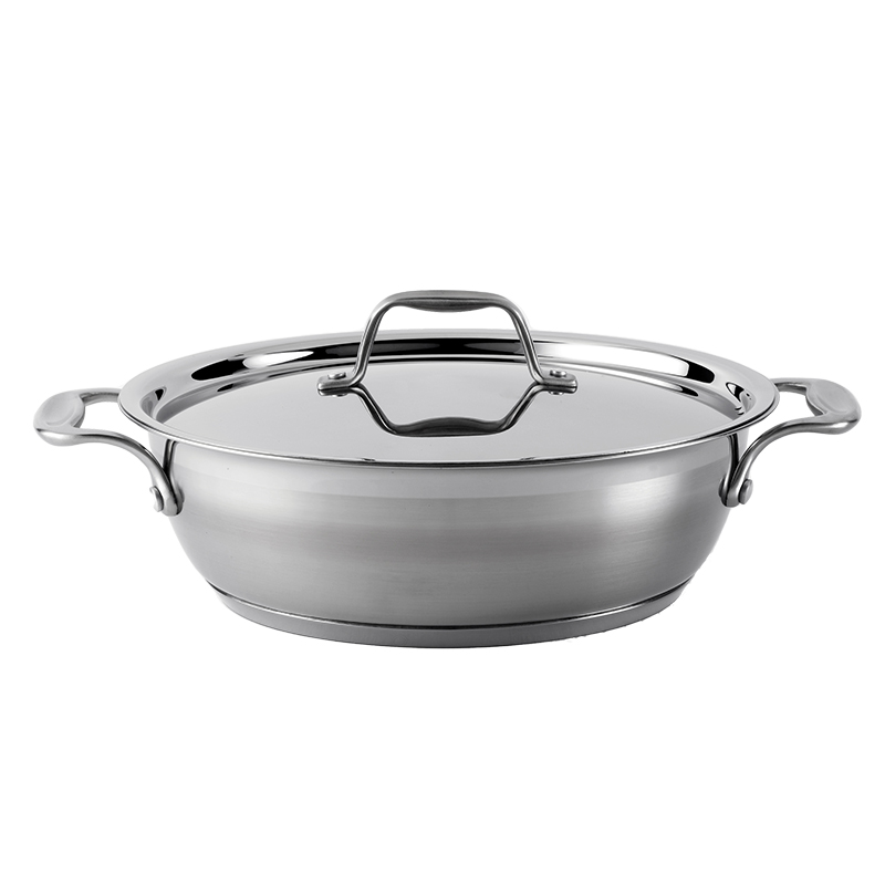 Dexam Supreme Stainless Steel Chef's Pan - 26cm/3.75L