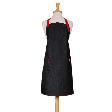 School Of Wok Denim Adult Apron