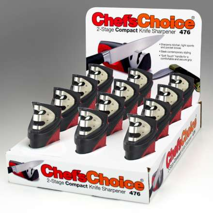 Chef's Choice 2 Stage Compact Knife Sharpener - CDU of 12