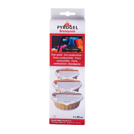 Fondue Gel Fuel - Pack of 3