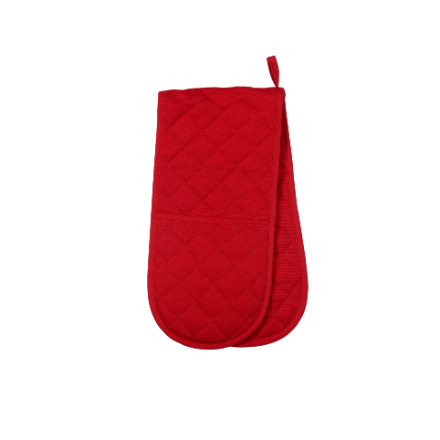 Dexam Love Colour Double Oven Glove - Scarlet
