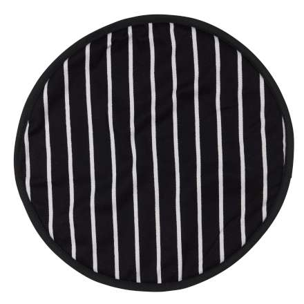 Rushbrookes Classic Butcher's Stripe Hob Cover - Navy