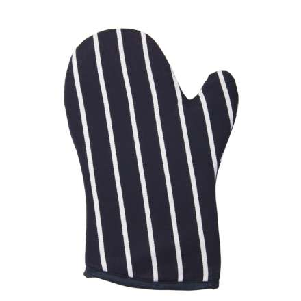 Rushbrookes Classic Butchers Stripe Gauntlet - Navy