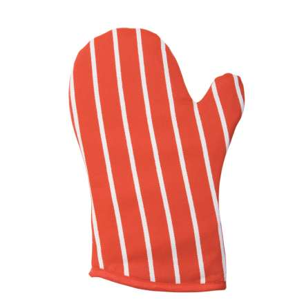 Rushbrookes Classic Butchers Stripe Gauntlet - Red