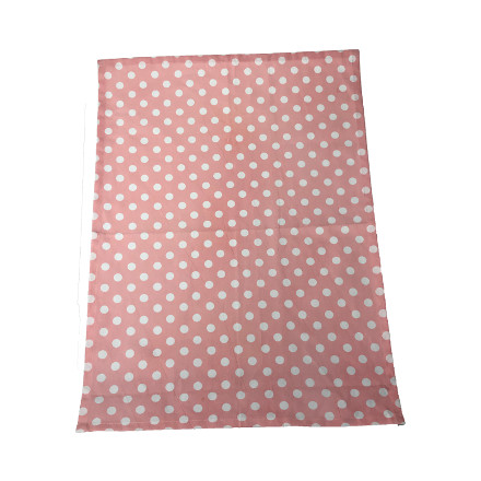 Polka Tea Towel - Blush Pink