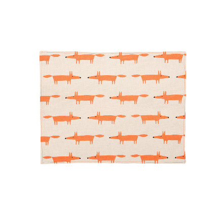 Scion Mr Fox Set of 4 Placemats - Stone