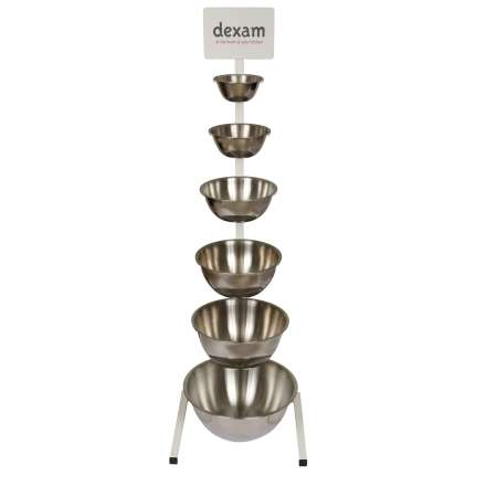 Dexam Stainless Steel Bowl Stand